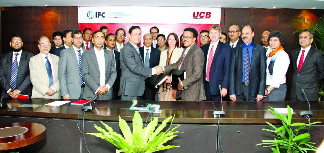 Op Een Bankje Sef.Muhammed Ali Managing Director Of United Commercial Bank Limited