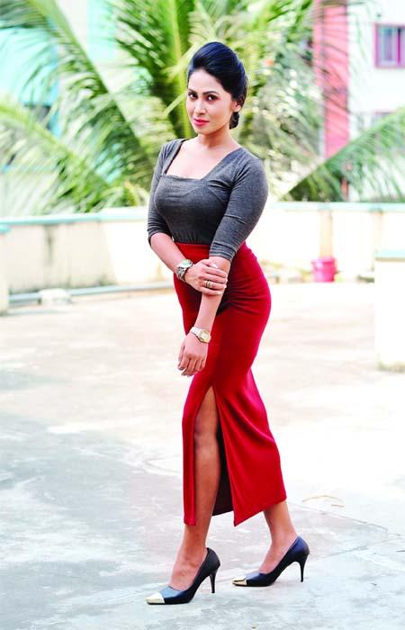 Alisha Pradhan waiting for film `Antorongo`