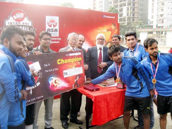 ASAUB organises football tournament