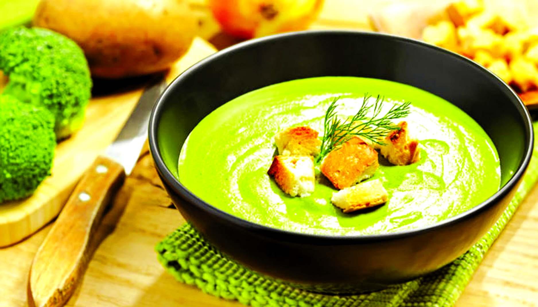 Куриный суп со шпинатом рецепт