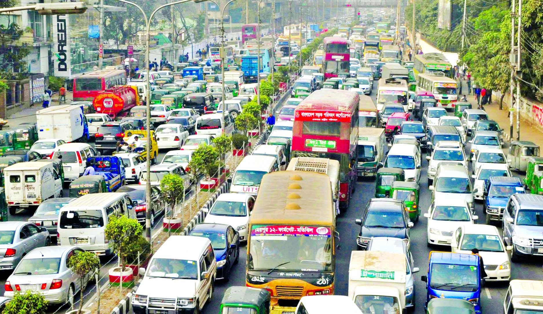 questionnaire on traffic jam of dhaka city