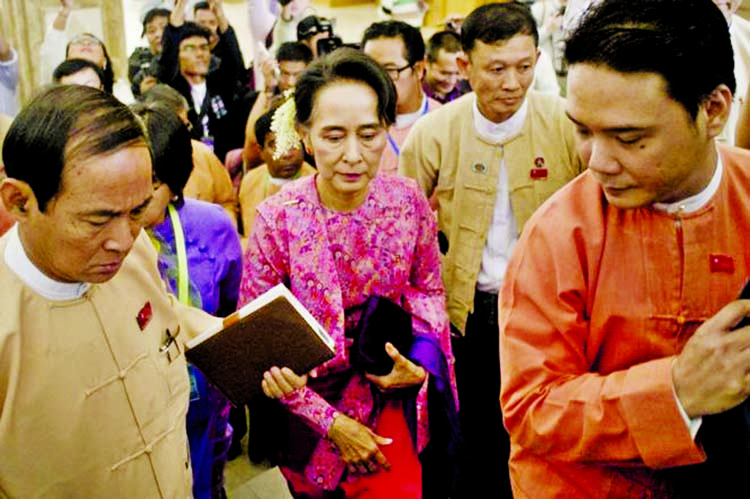 First freely elected Myanmar parliament opens
