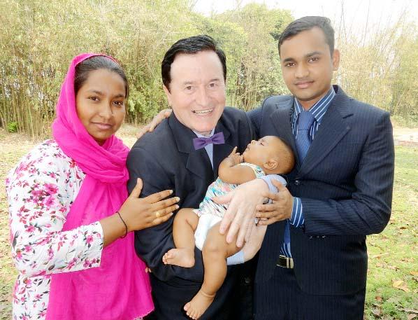 3rd Bangladeshi baby named 'Frank Peters'