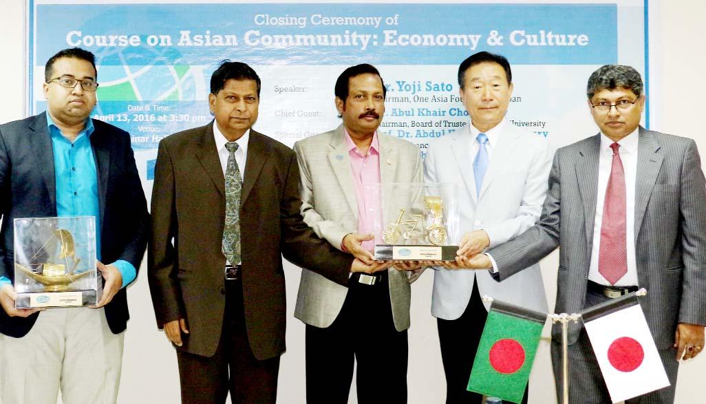 One Asia Foundation Chairman visits EU