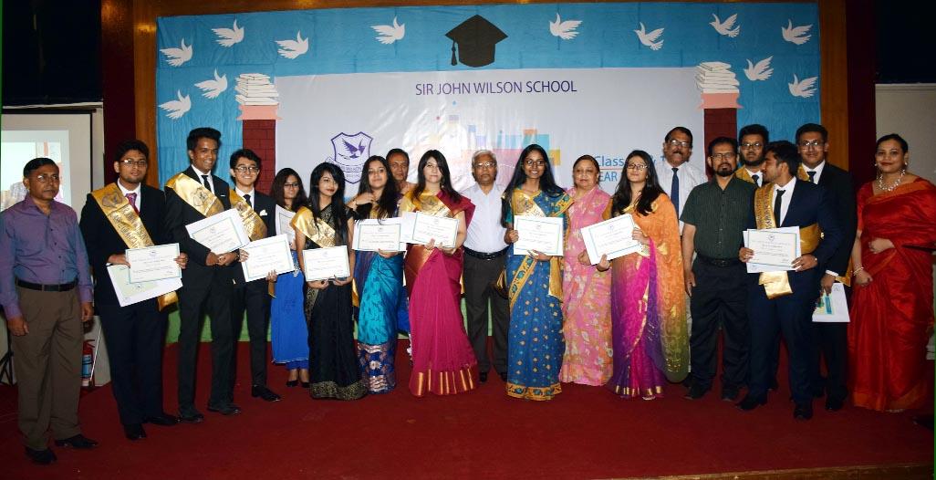 Sir John Wilson School Graduation Ceremony held