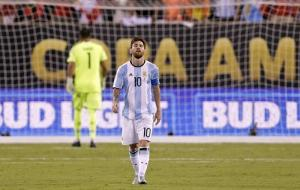 Messi says he has retired from internationals