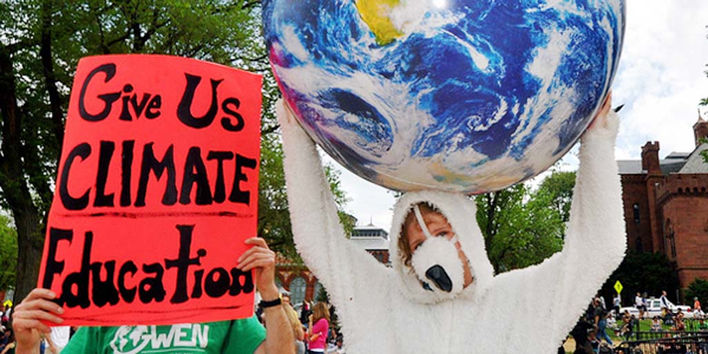 Why climate change is an education issue