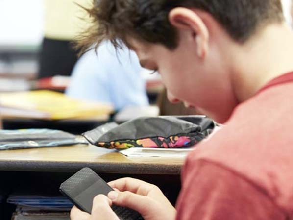 Is your teen texting in class?
