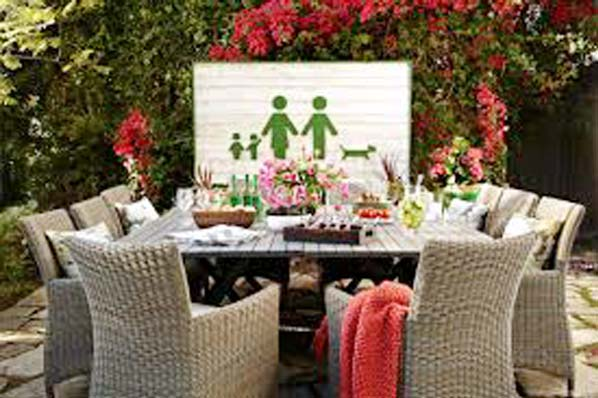 Outdoor fun family style!