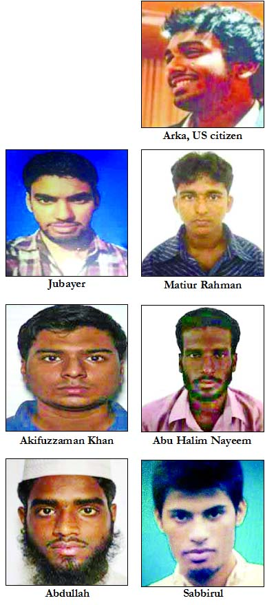 7 slain militants identified