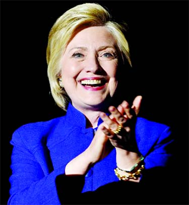Hillary secures historic presidential nomination