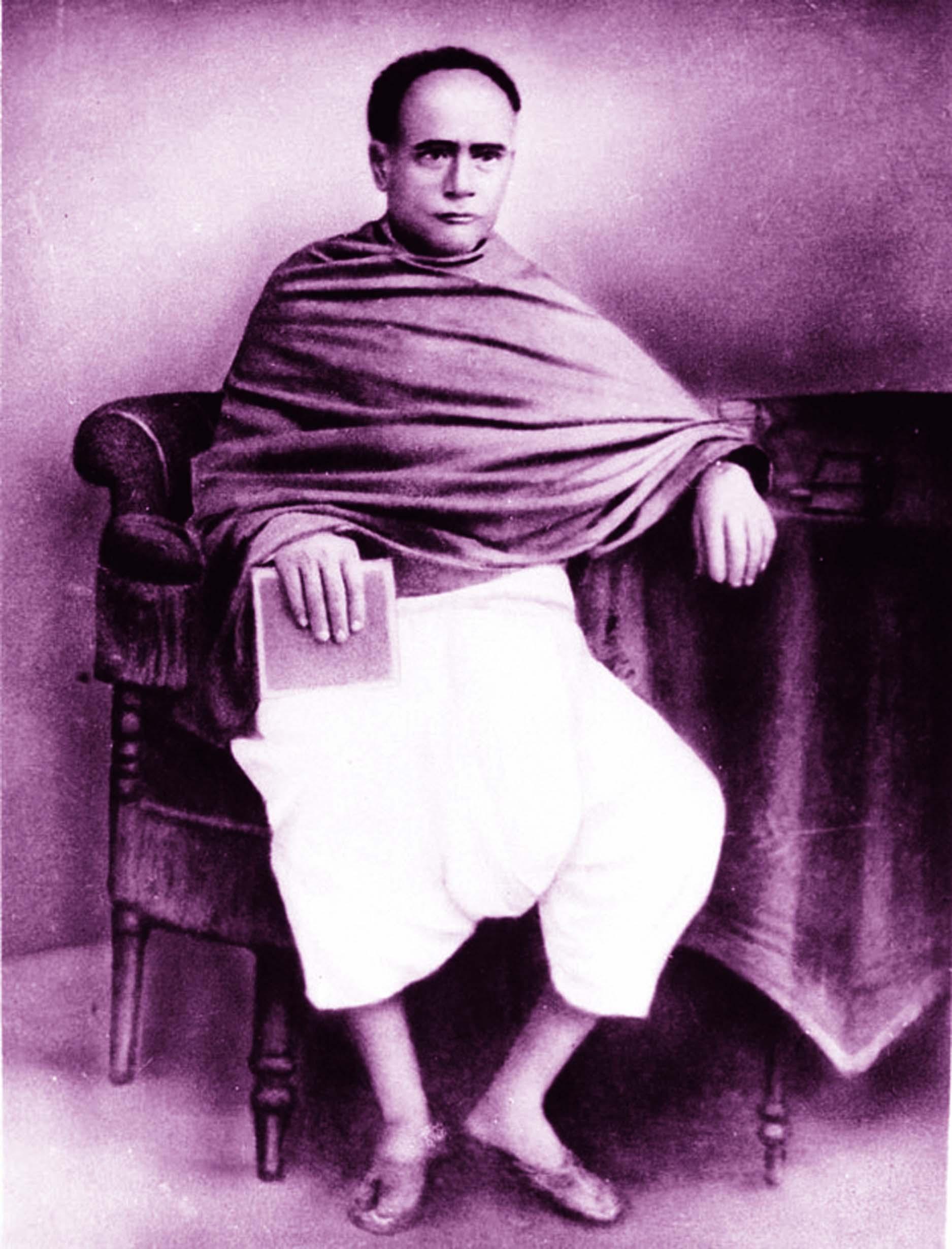Literature reformer Ishwar Chandra Vidyasagar