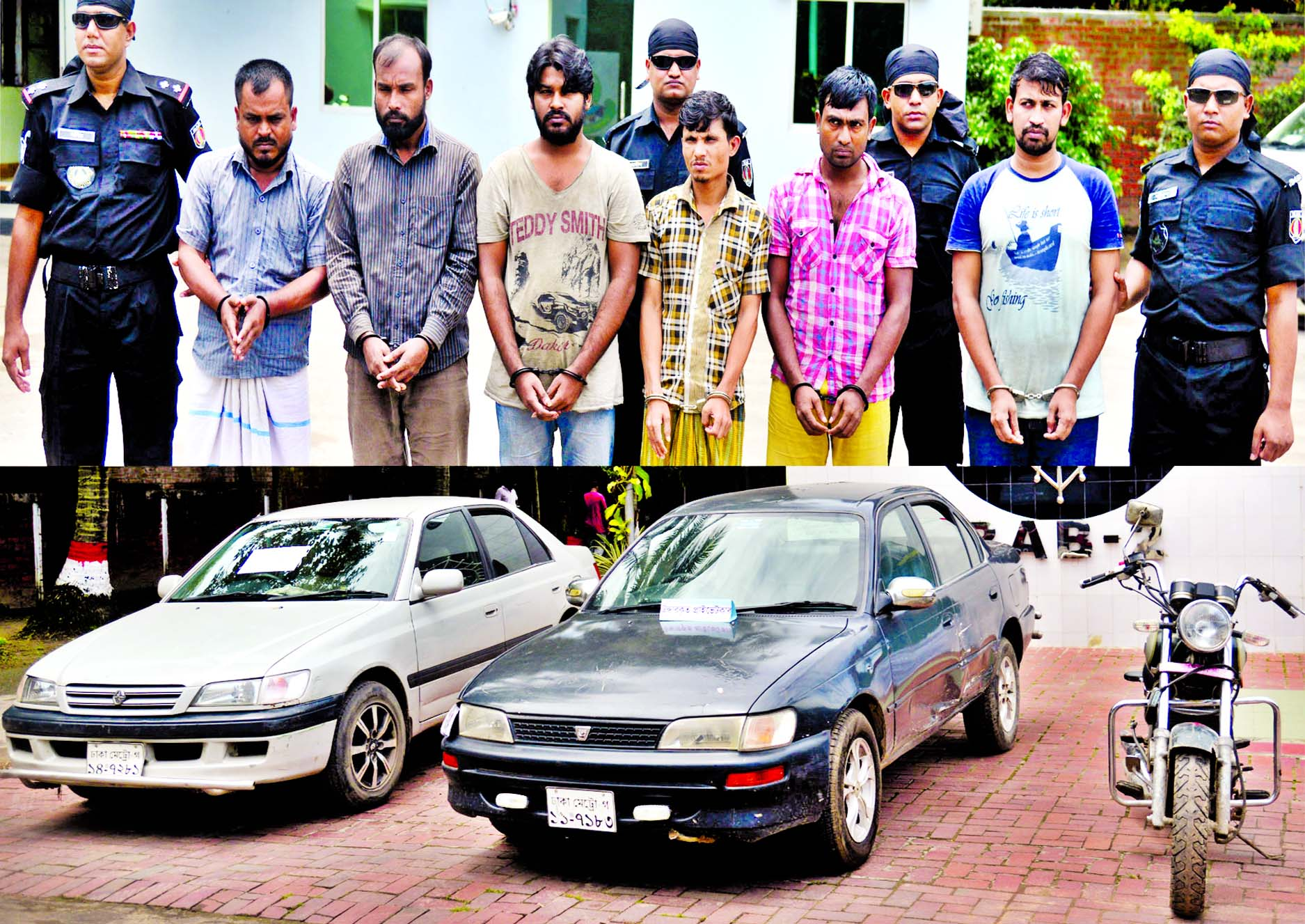 7 alleged robbers held in city the new nation for Rab motors used cars
