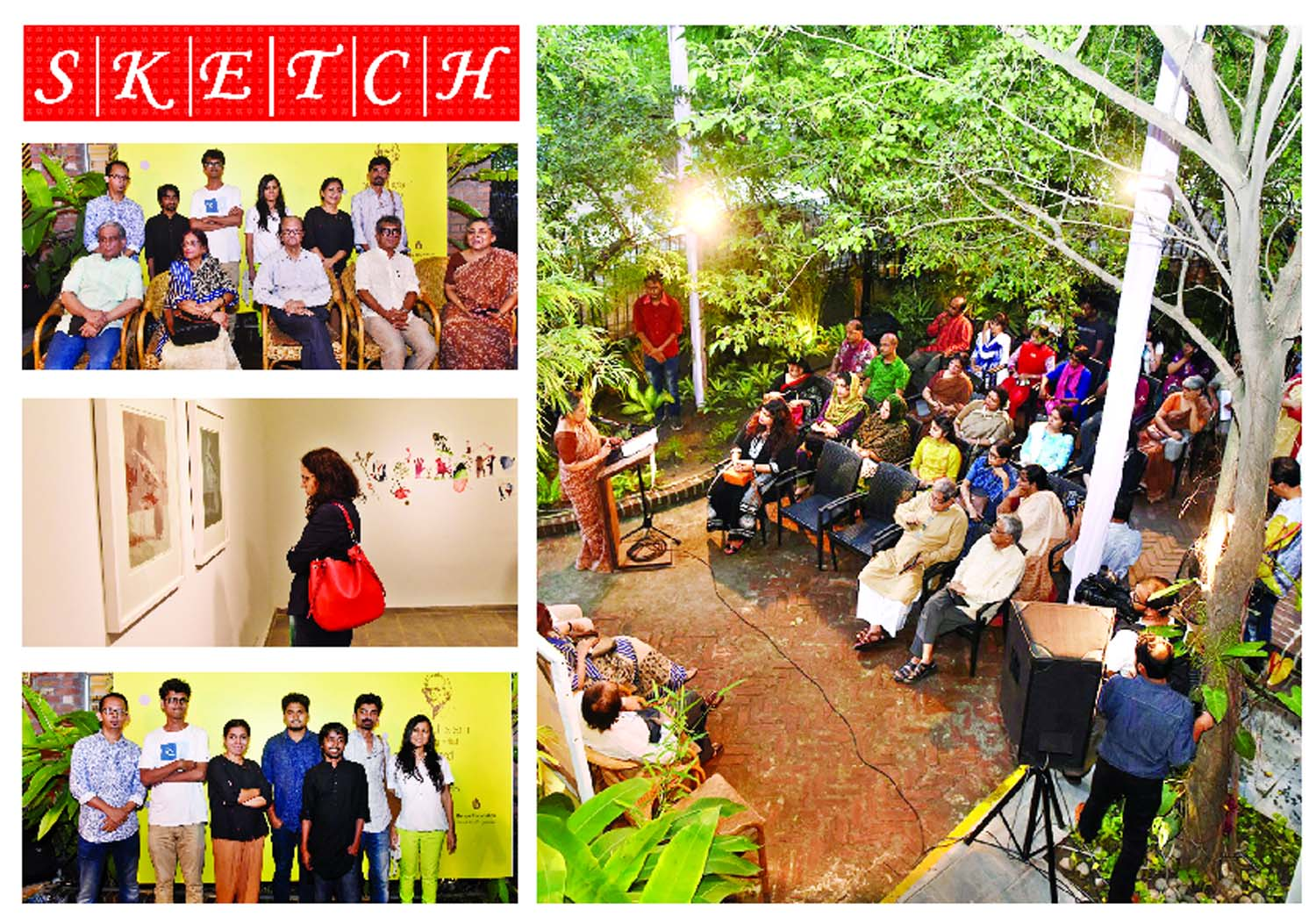 Aminul Islam Young Artist Award given, Open Studio held