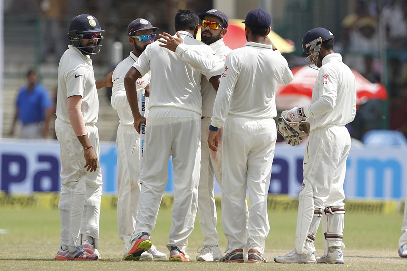 India skittle New Zealand for victory in 500th Test
