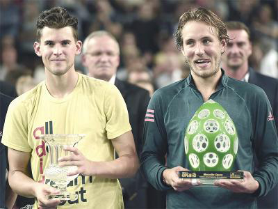 Pouille beats Thiem to win Moselle Open and 1st title