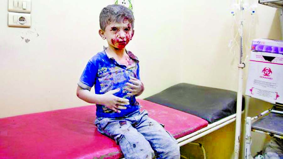 Aleppo bleeding