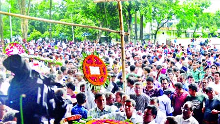Syed Haq laid to rest in Kurigram