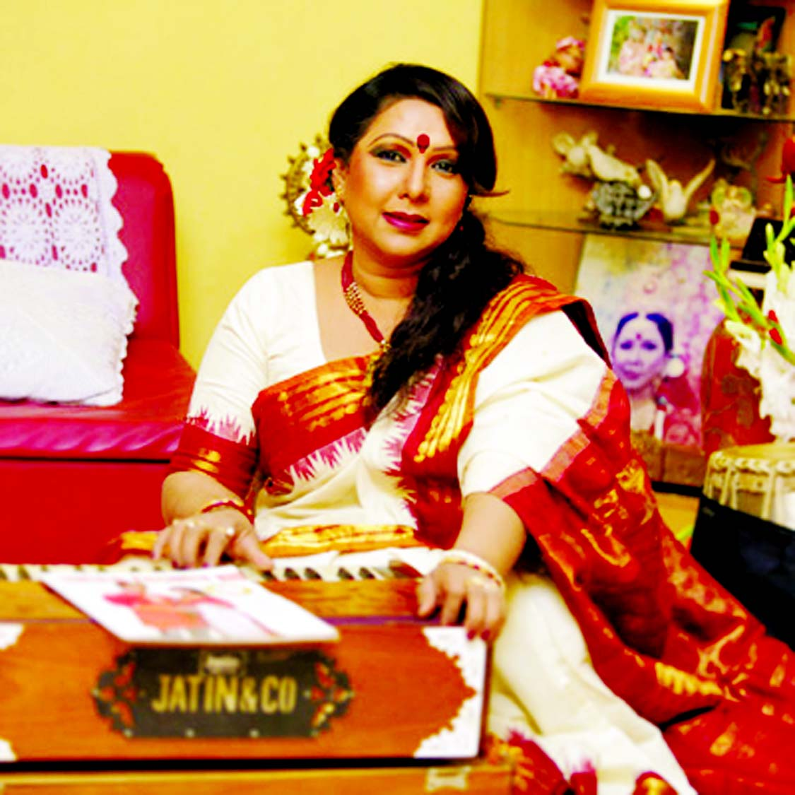 Shuvra Debnath`s solo performance of Tagore songs