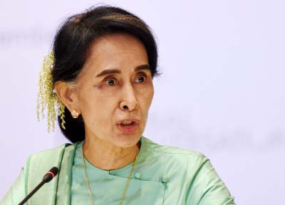 Suu Kyi vows `reconciliation` amid Rohingya crisis