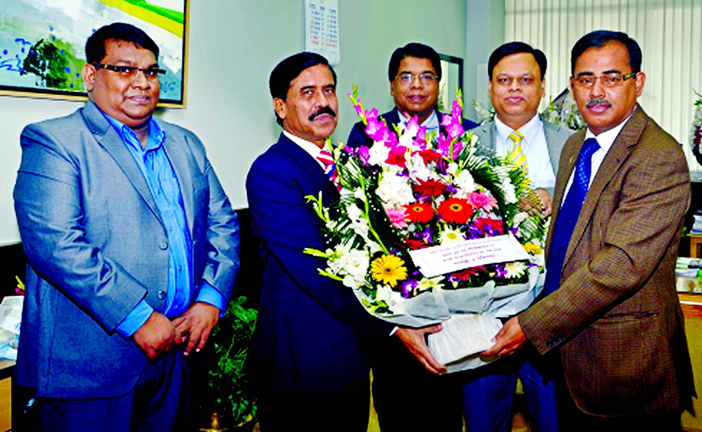 Md Ataur Rahman Prodhan, Managing Director and CEO of Rupali Bank ...