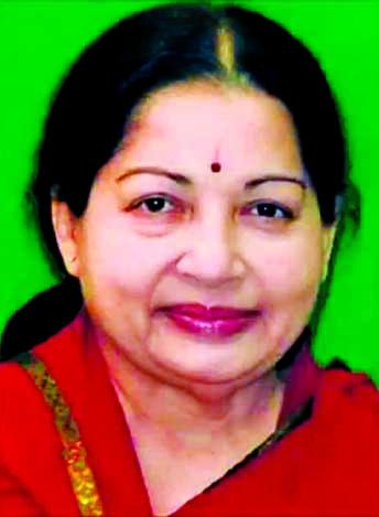 Jayalalitha on life support