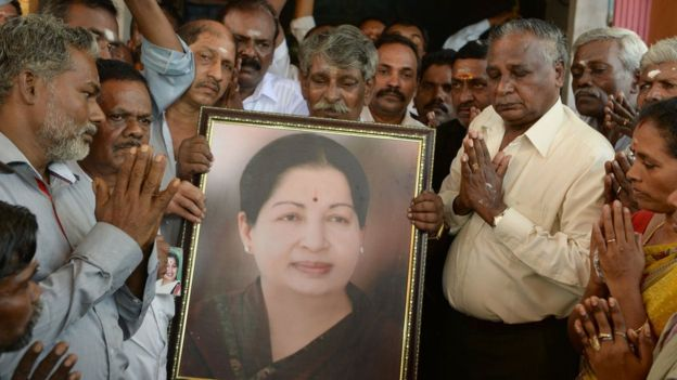 India`s southern leader Jayalalithaa dies, supporters grieve in streets
