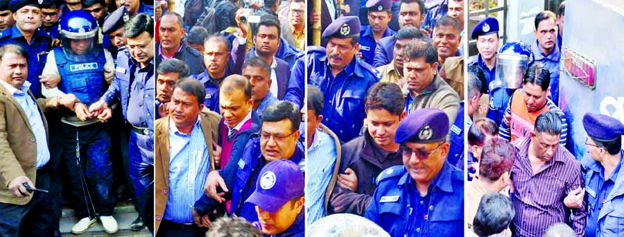 Nur Hossain, Tareque Sayeed,  24 others walk to gallows
