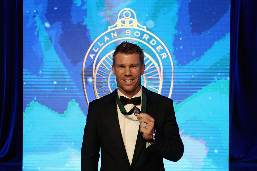Warner wins Allan Border medal for second year