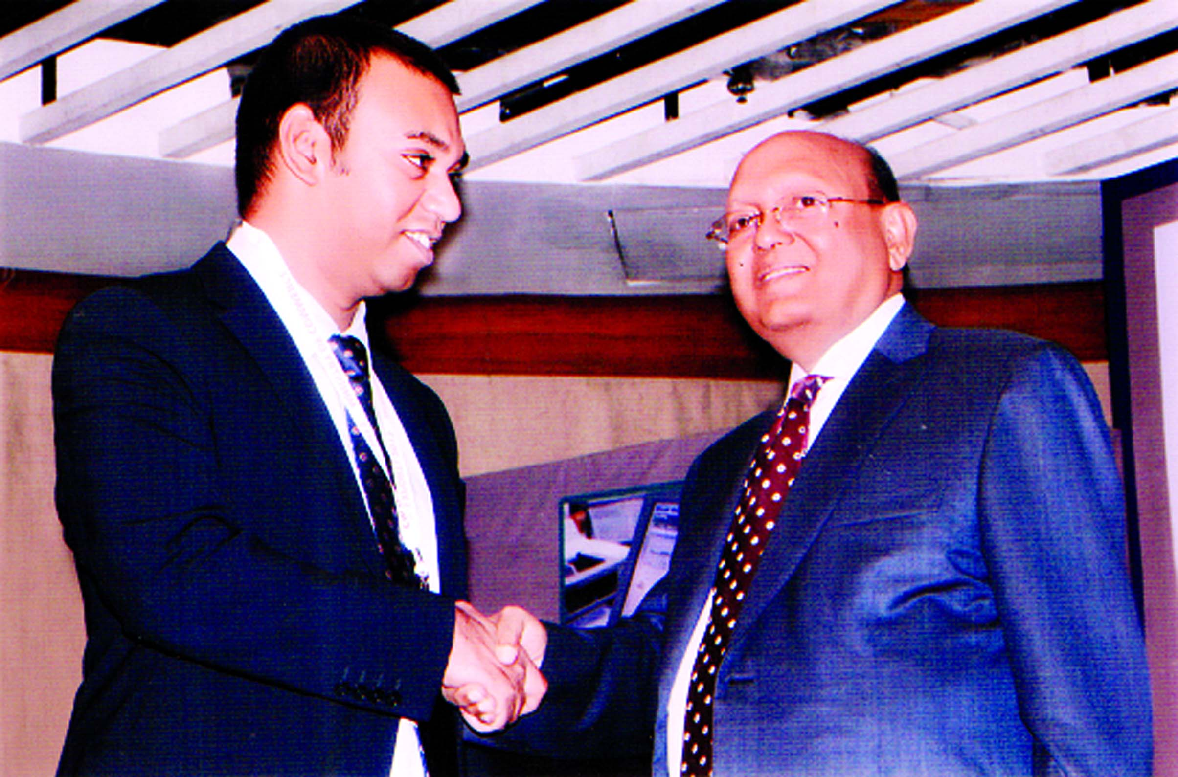 Commerce Minister Tofael Ahmed MP Recently Handed Over CIP Card To Abdul Momin Mondol Managing Director Montrems Ltd For His Outstanding Contributions