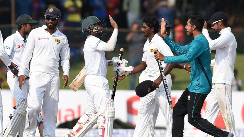 Test series v Sri Lanka drawn 1-1