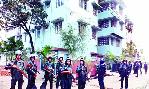 No militant, no explosive found in Ctg raid