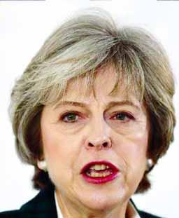 `We`ll never waver` Theresa May tells MPs