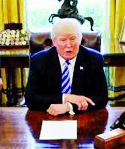 Trump defiant after healthcare bill pulled before vote