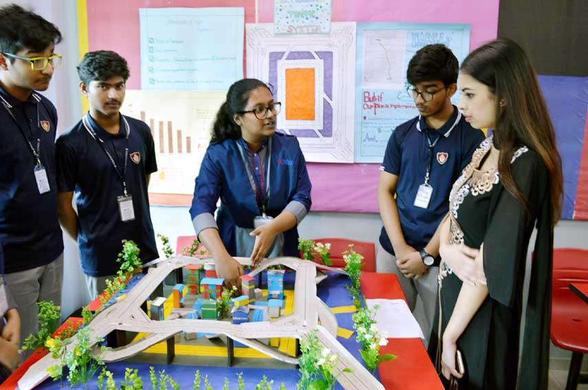 Science Fair at OIS, Dhanmondi