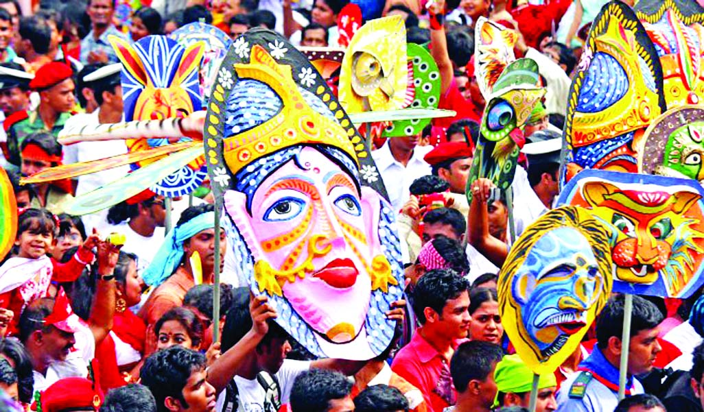 Emergence of Bengali New Year Calendar