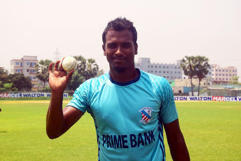 Nasir Hossain hits century, Rubel Hossain grabs six wkts