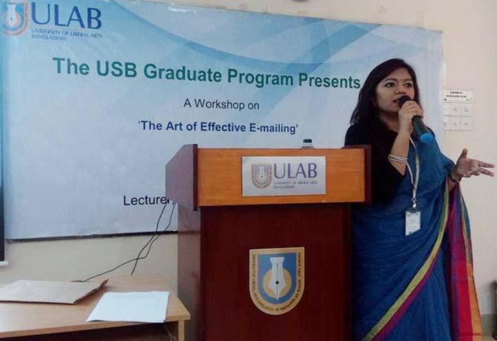 ULAB hosts workshop on emailing