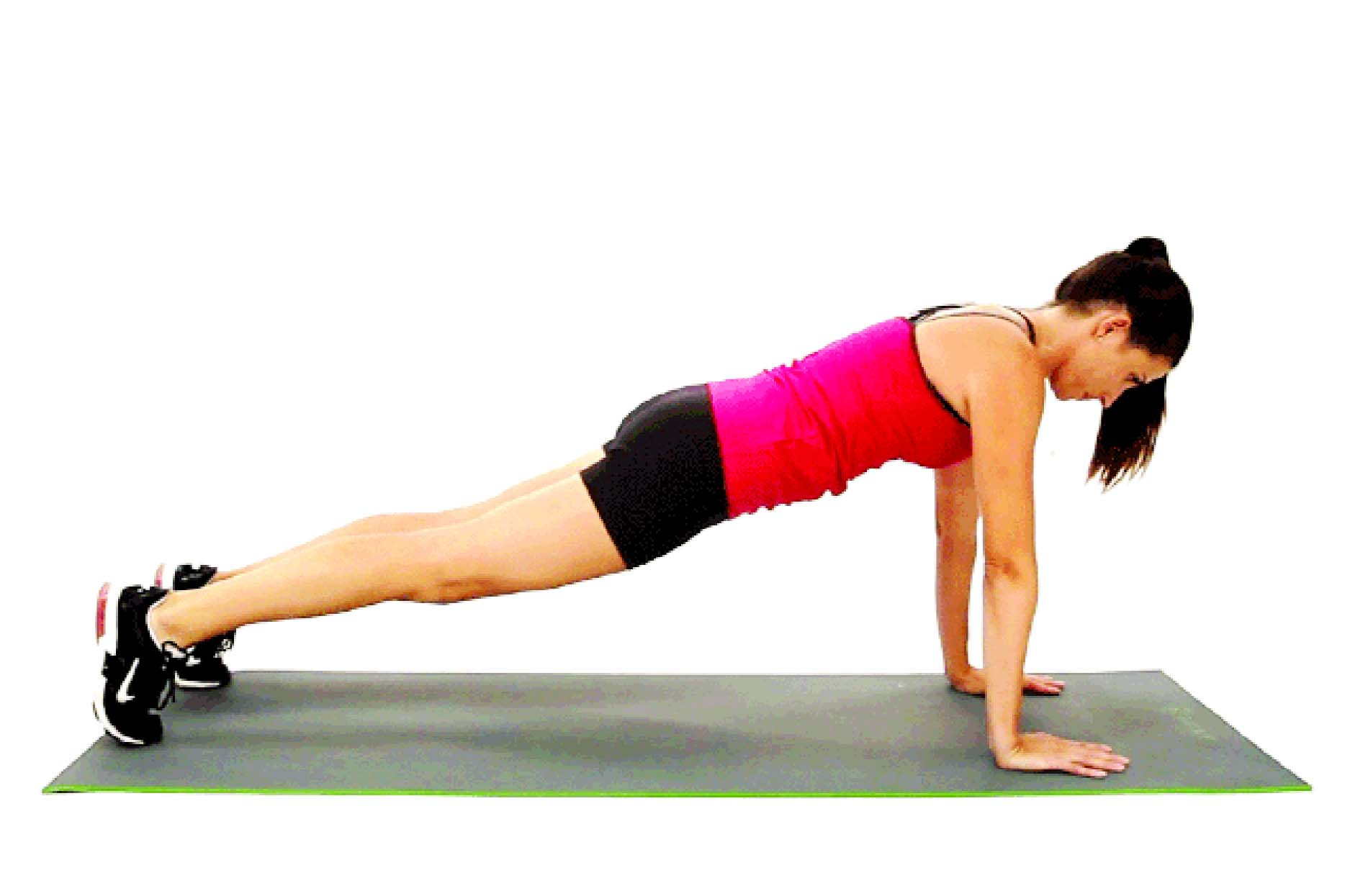 Planks give a better balance of muscles on the front, back and sides of the body during the activity as opposed to sit-ups which target only a few muscle groups