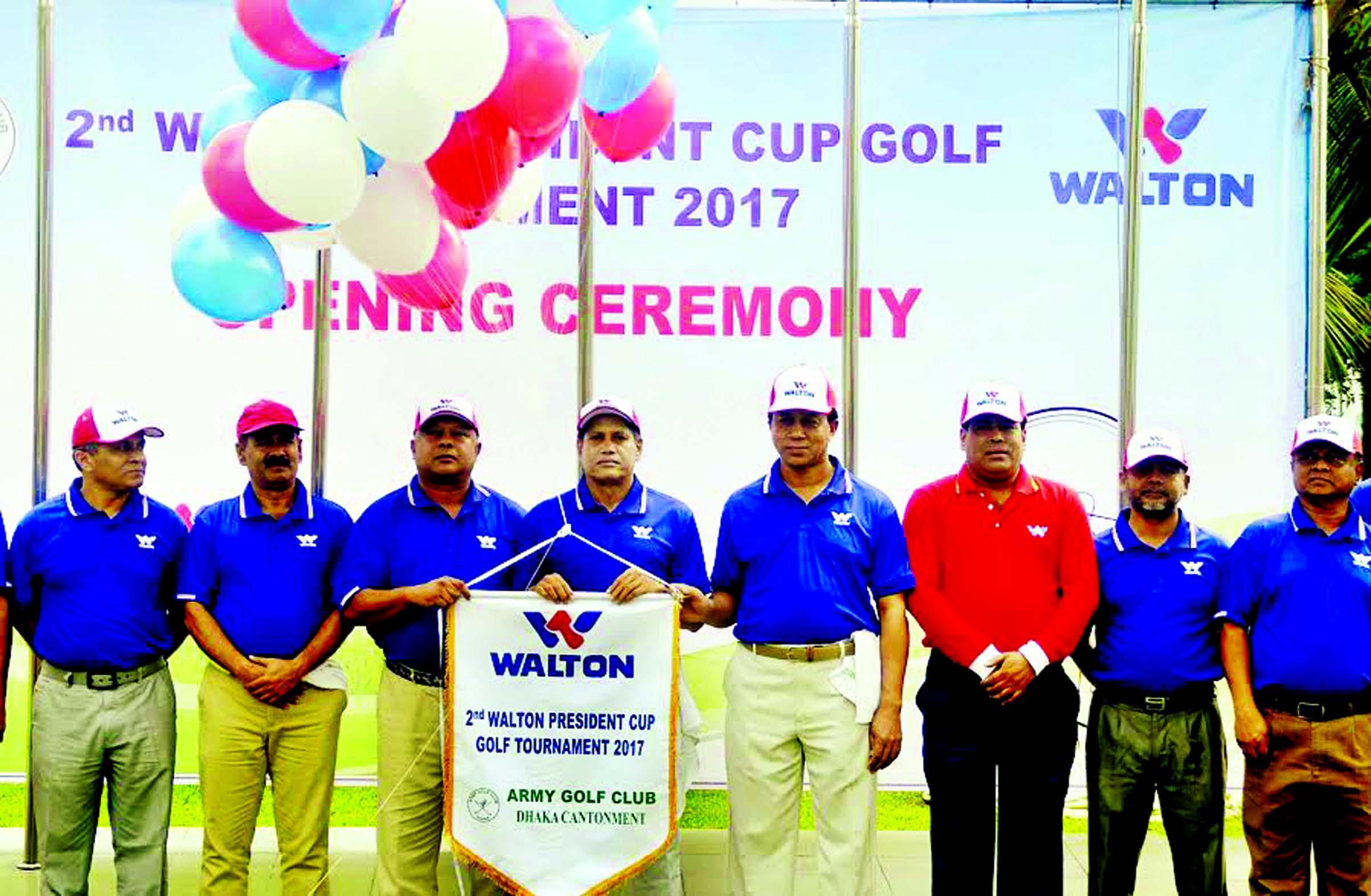 Walton Cup Golf inaugurated
