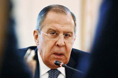 Russian FM presses Tillerson over Syria probe