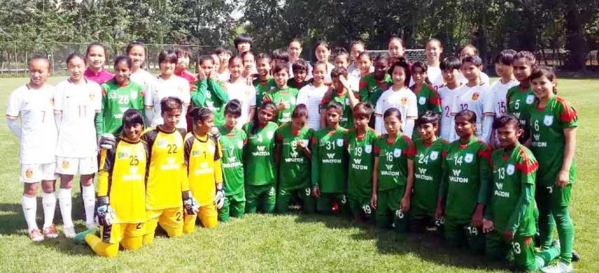 BD U-16 lose 1st friendly match