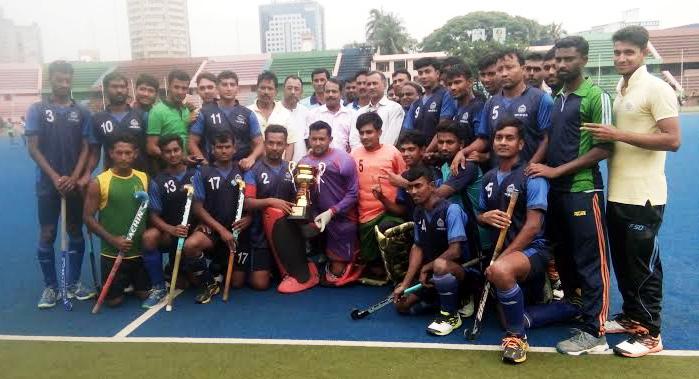 Bangladesh Police become champions