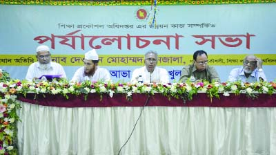 KHULNA: Prof Dr Md Alamgir,  VC, Khulan University of Engineering and Technology  (KUET) addressing a seminar on reaction and solution  on construction works organised by Public Works Department,   Khulna Zone on Saturday.