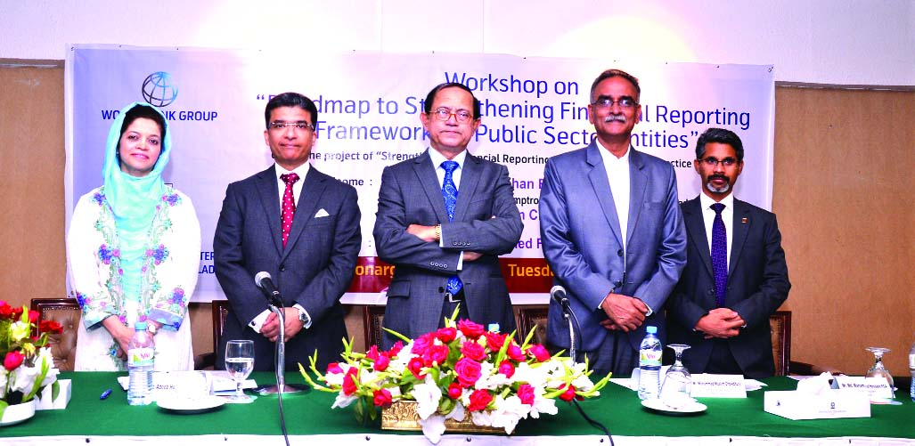 The Institute of Chartered Accountants of Bangladesh (ICAB) and the World Bank jointly organized a 'Workshop on