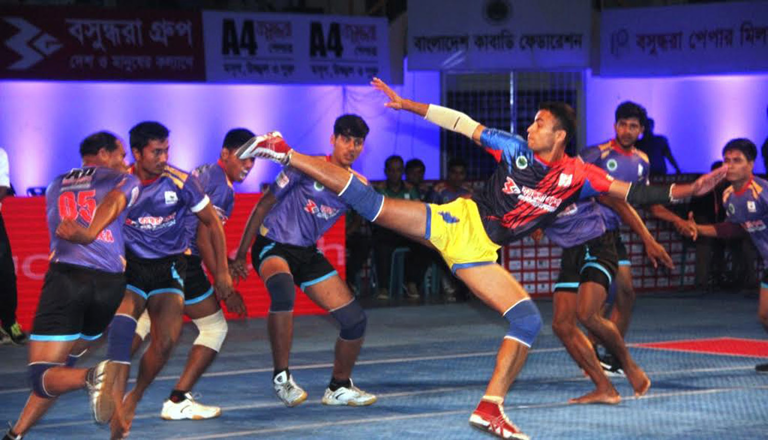 Final round of Independence Cup Kabaddi begins