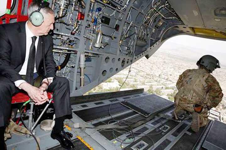 US Defense Secy Mattis in Afghanistan to discuss war needs