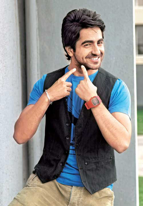 Ayushmann's midnight shenanigans on sets of Shubh Mangal Savdhan