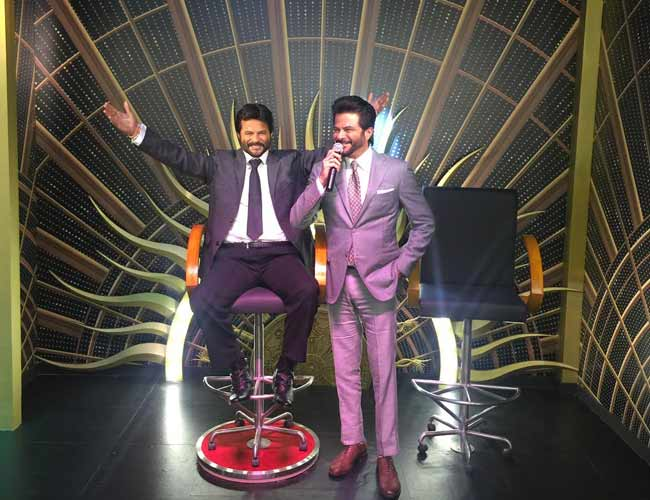 Anil Kapoor gets his wax statue at Madame Tussauds