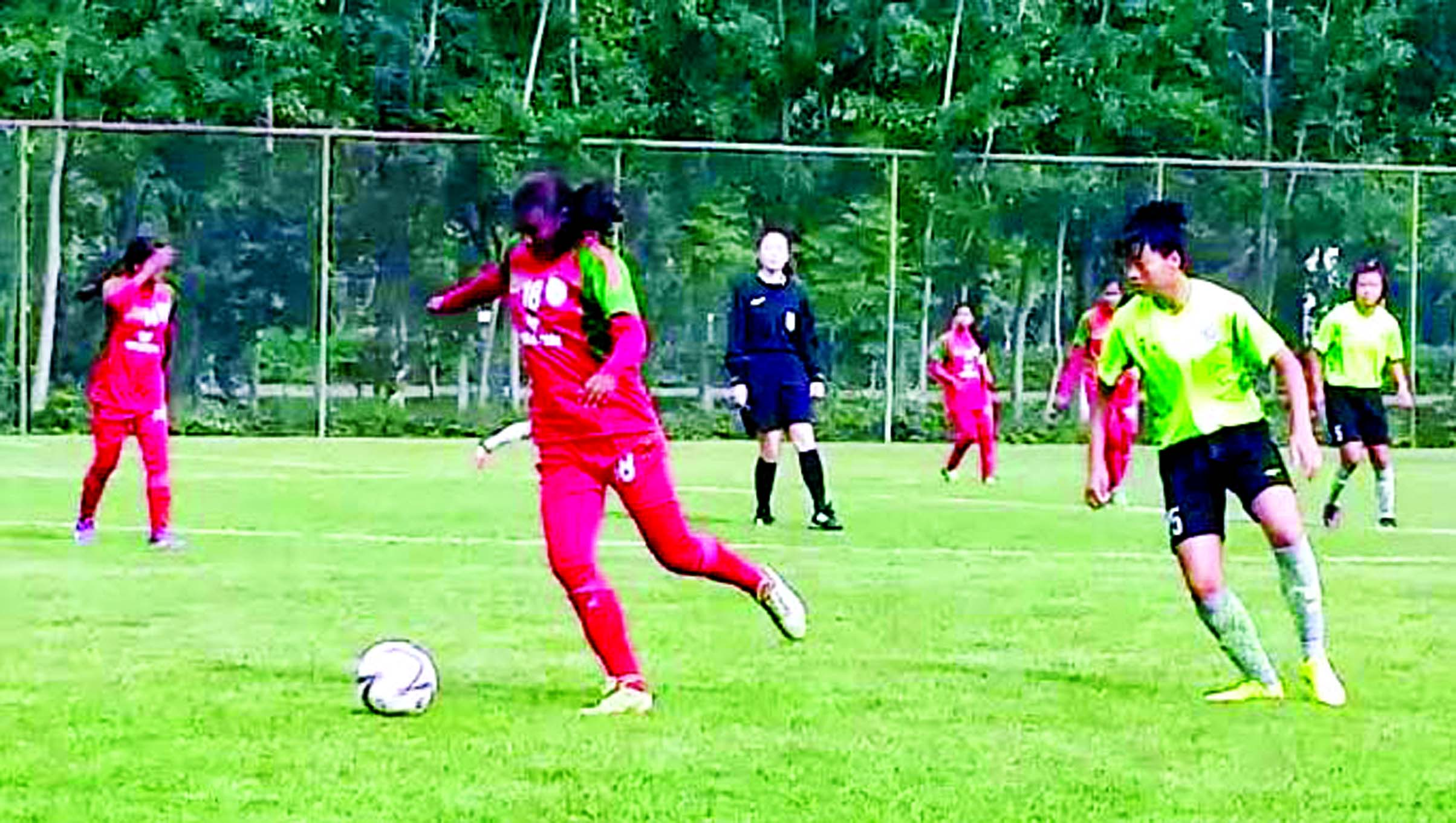 BD U-16 girls` team keep win in friendly match